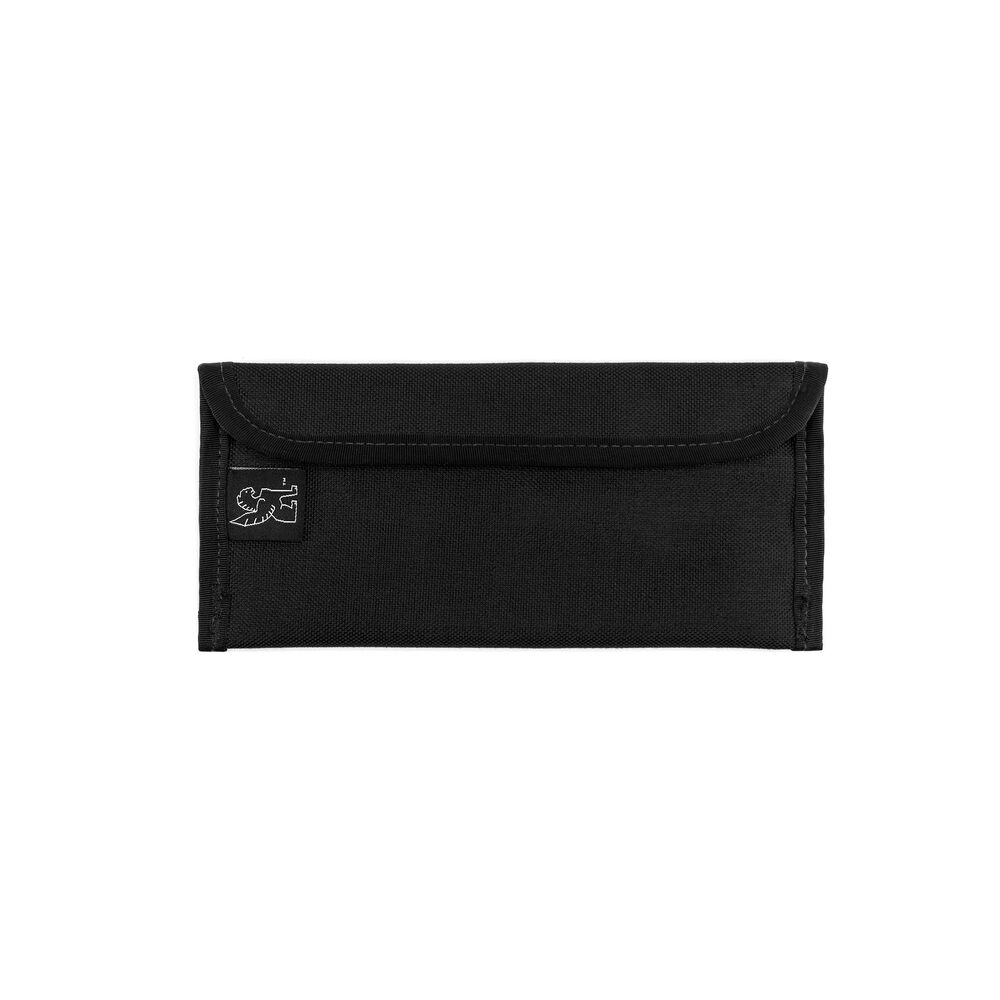 Small Utility Pouch in Black - large view.