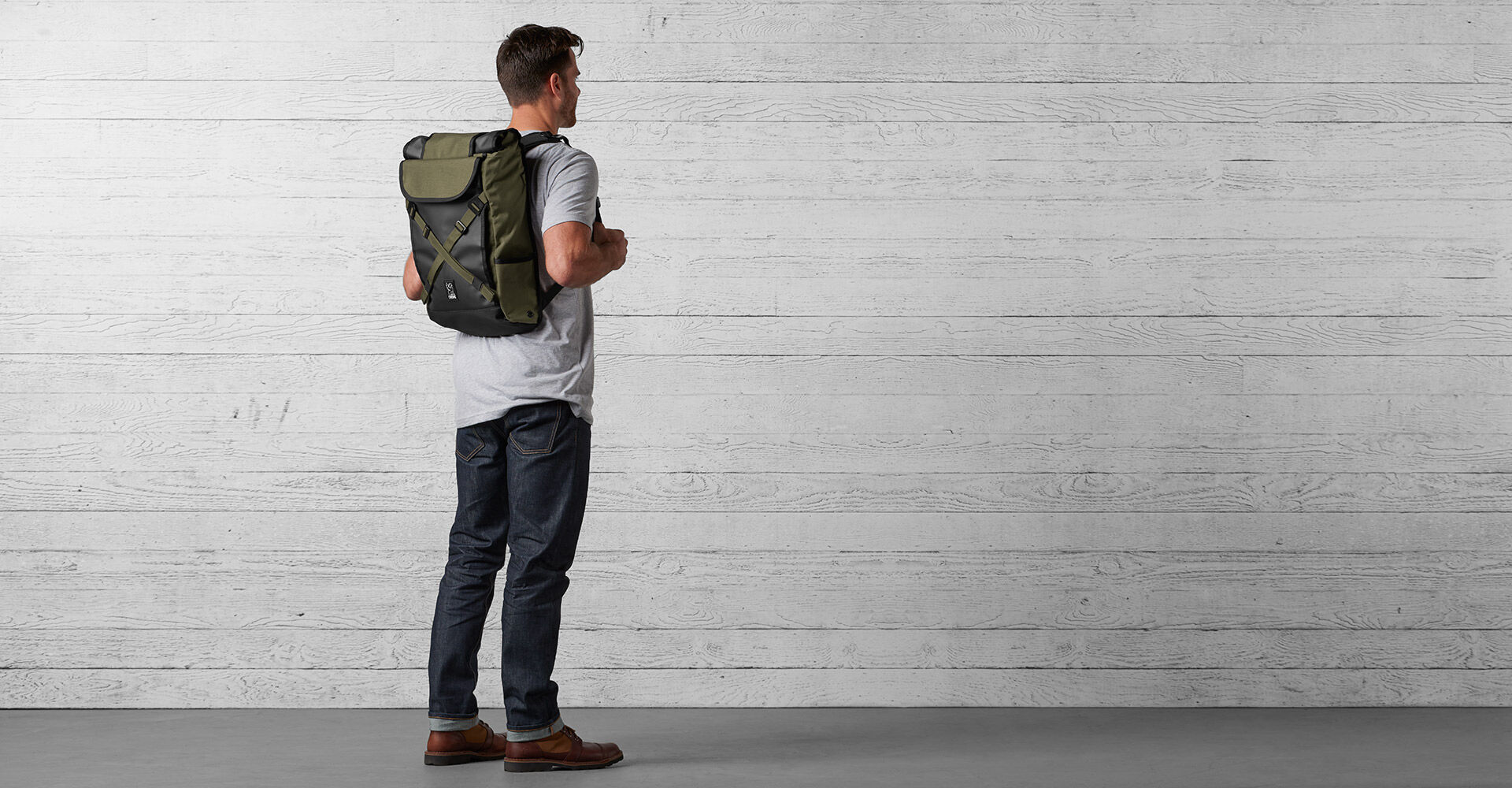 Bravo 2.0 Backpack in Ranger - wide view.