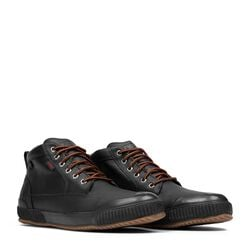 Storm 415 Workboot in Black Leather / Gum - small view.