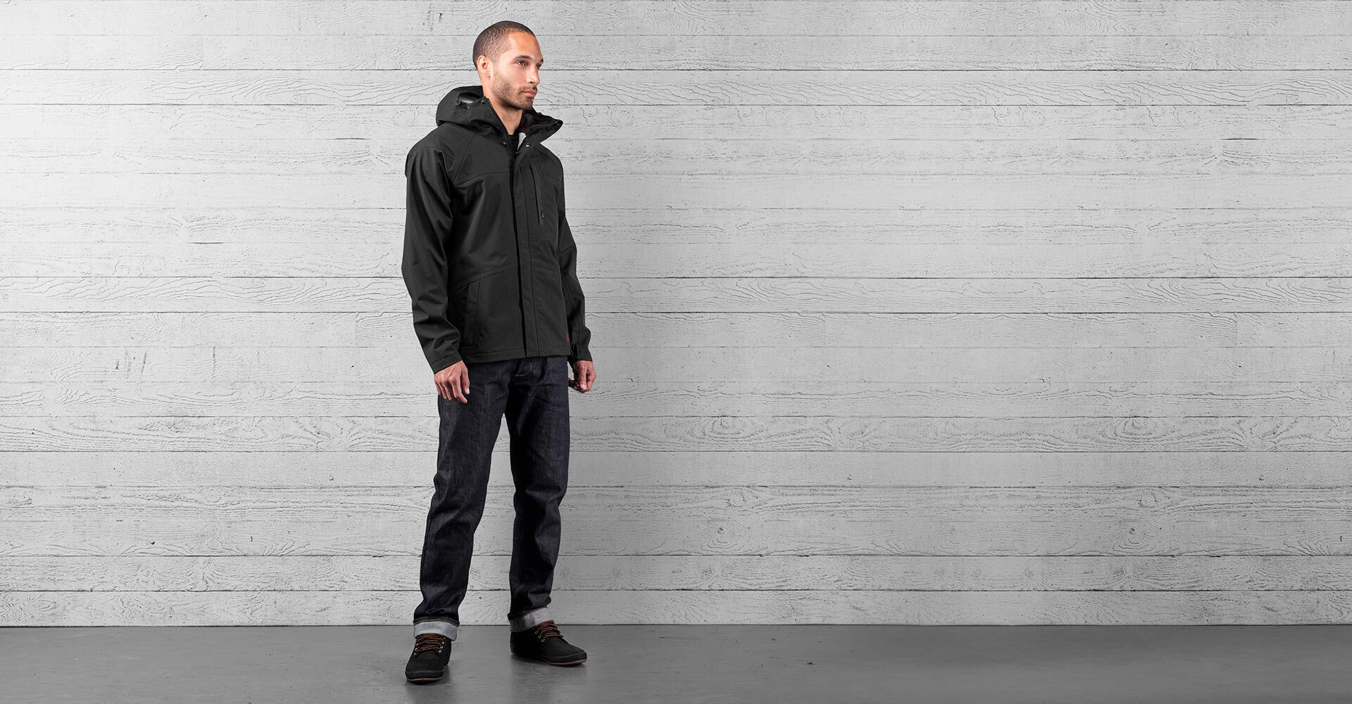 Storm Cobra 2.0 Jacket in Black - wide view.