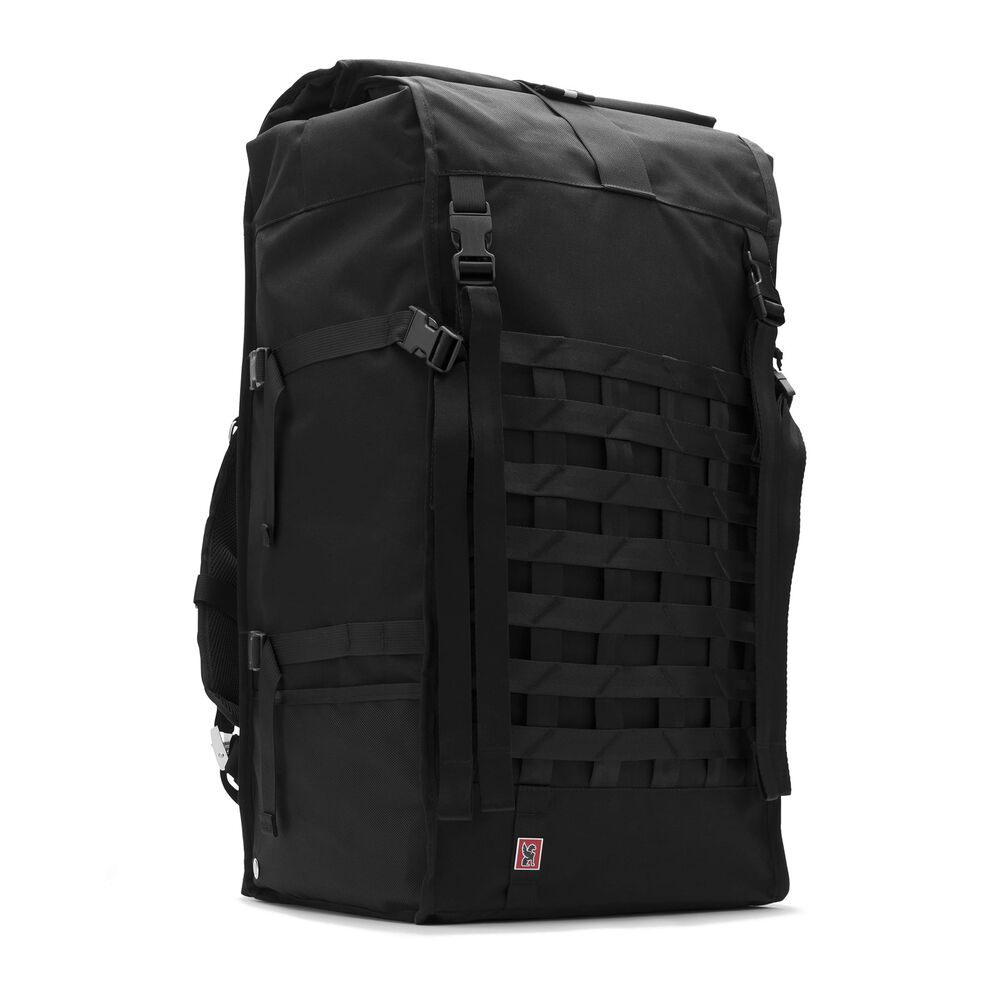 Barrage Pro Backpack in Black - large view.