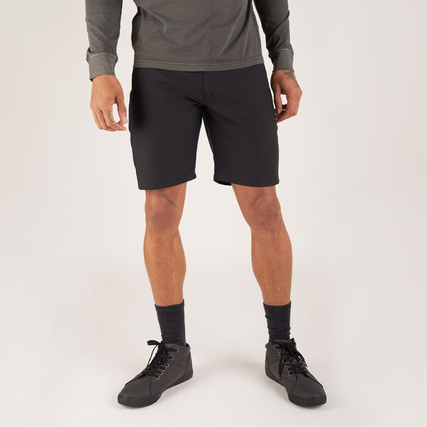 Madrona 5 Pocket Short in Black - hi-res view.
