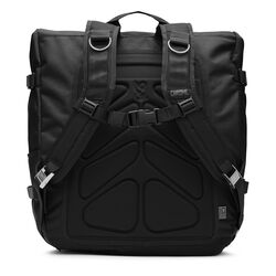 Warsaw II Messenger Backpack in Black - small view.