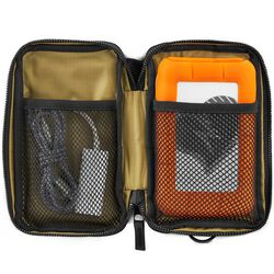 Mazer Accessory Pouch in Black / Black - large view.