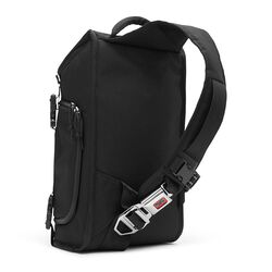 Niko Messenger Bag in Black / Black - large view.