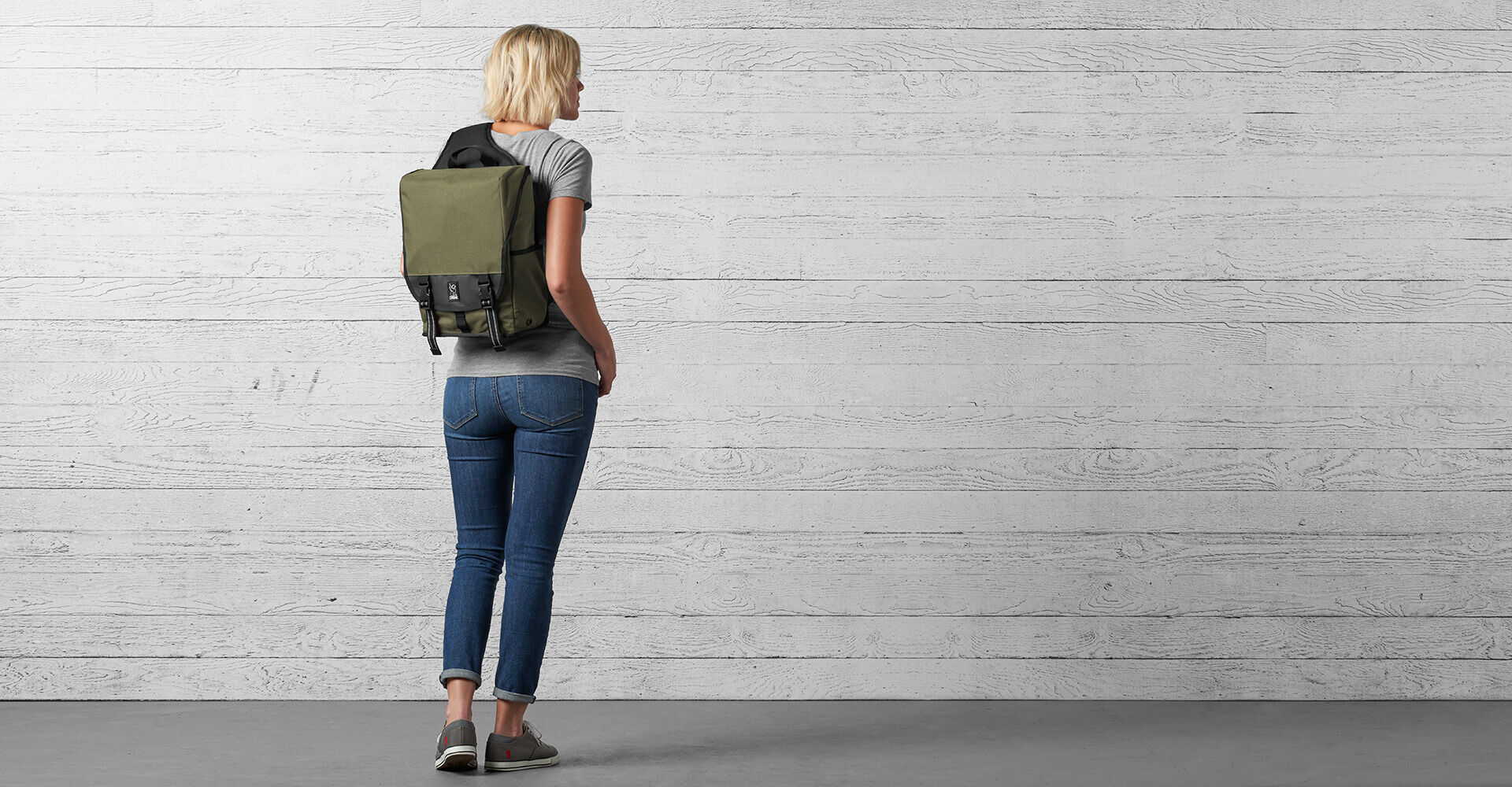 Soma Sling Messenger in  - wide view.