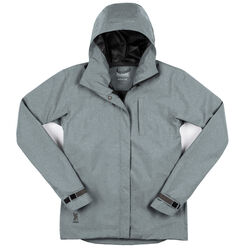 Women's Storm Signal Jacket in Lead - small view.