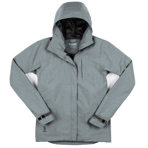 Women's Storm Signal Jacket in Lead - medium view.