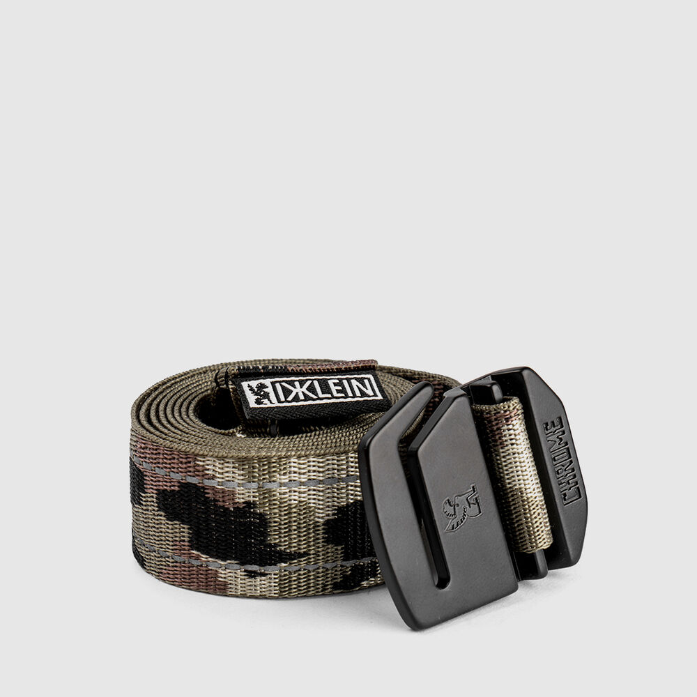 DKLEIN Webbed Belt in Camo - large view.