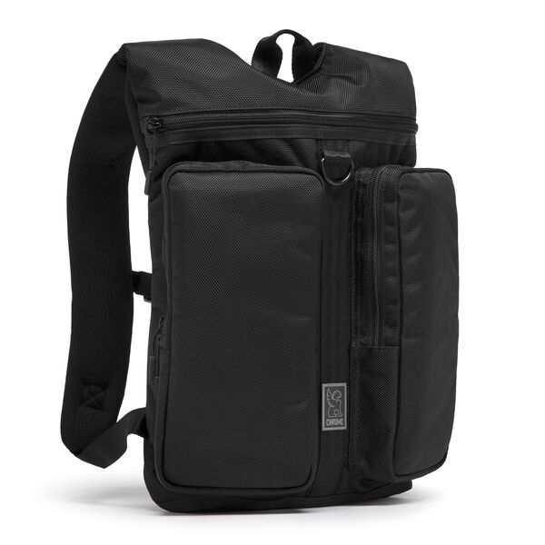 MXD Fathom Backpack in All Black - hi-res view.