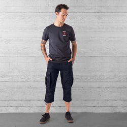 Blake Cycling Knicker Pant in Midnight - wide-hi-res view.