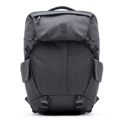 Pike Backpack in Grey - large view.