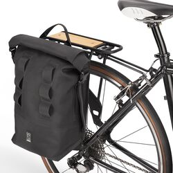 Urban Ex Pannier in Black / Black - hi-res view.