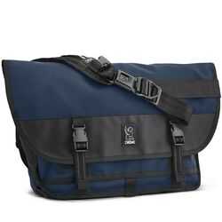 Citizen Messenger Bag in Navy Blue - hi-res view.