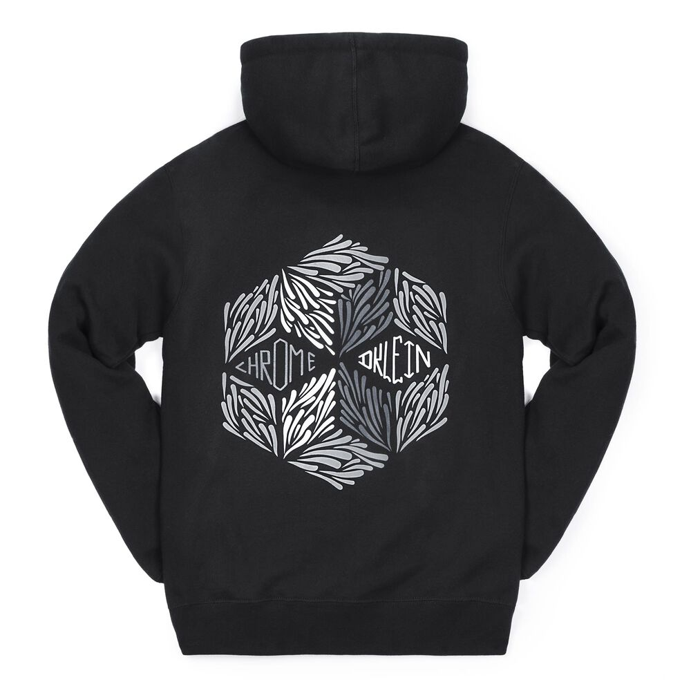 DKlein Graphic Hoodie in Black - large view.