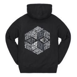 DKlein Graphic Hoodie in Black - small view.