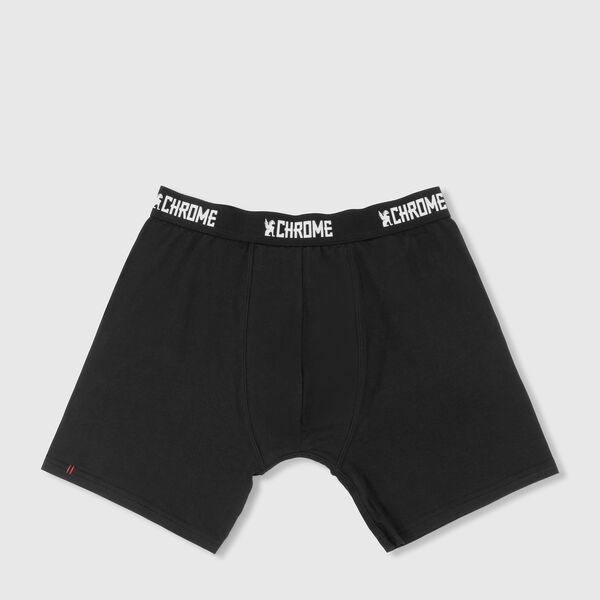 Knit Boxer - Final Sale in Black - medium view.