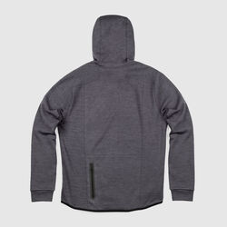 Stark Tech Fleece Hoodie in Gargoyle Grey - small view.