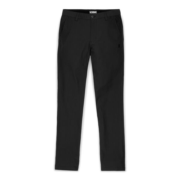 Seneca Chino Pant in Black - medium view.