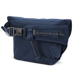 Mini Metro Messenger Bag in Navy Tonal - hi-res view.