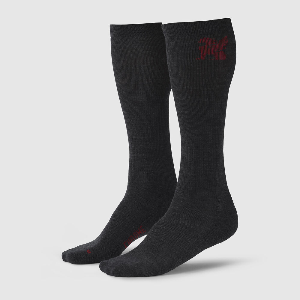 OTC Merino Socks in Charcoal - large view.