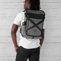 Echo Bravo Backpack in Gargoyle Grey - hi-res view.