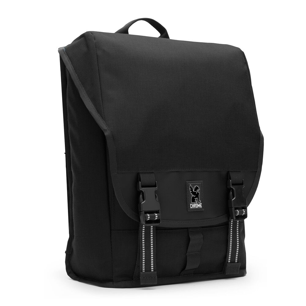 Soma Backpack in All Black - hi-res view.