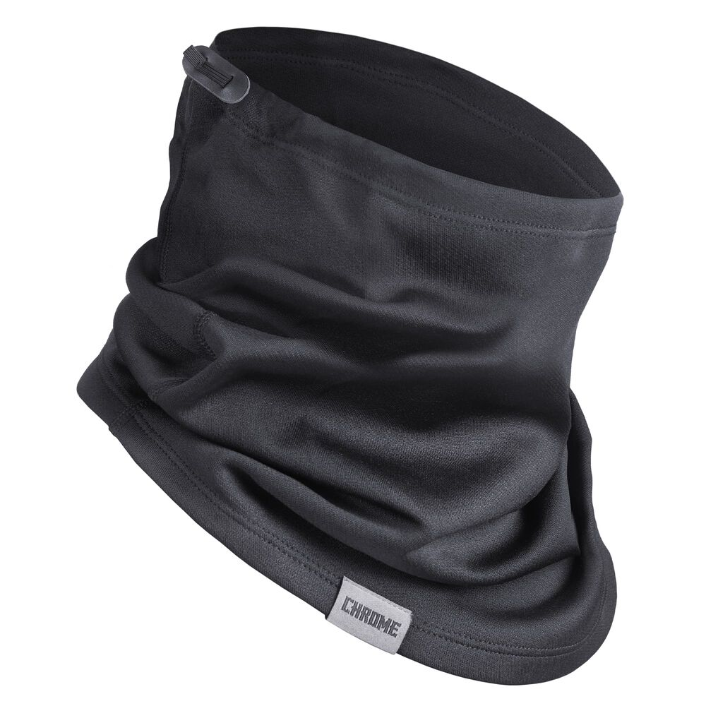 Fleece Gaiter in Black - hi-res view.