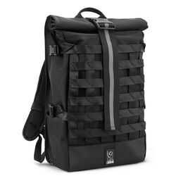 Barrage Cargo Backpack in All Black - hi-res view.
