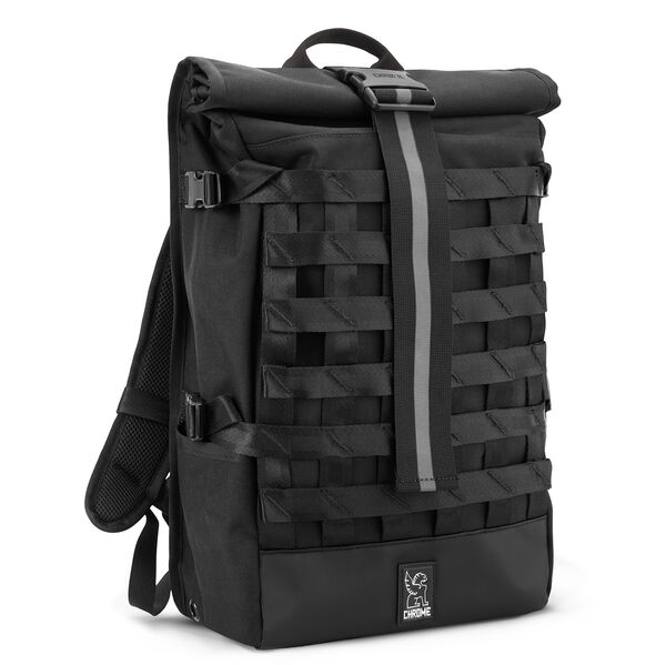 Barrage Cargo Backpack in All Black - medium view.
