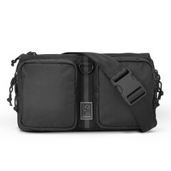 MXD Notch Sling Bag in Black Ballistic - hi-res view.