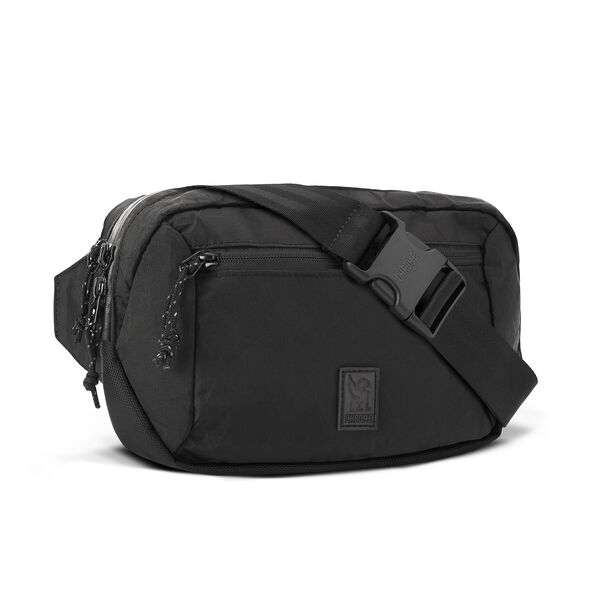 Ziptop Waistpack in BLCKCHRM - hi-res view.