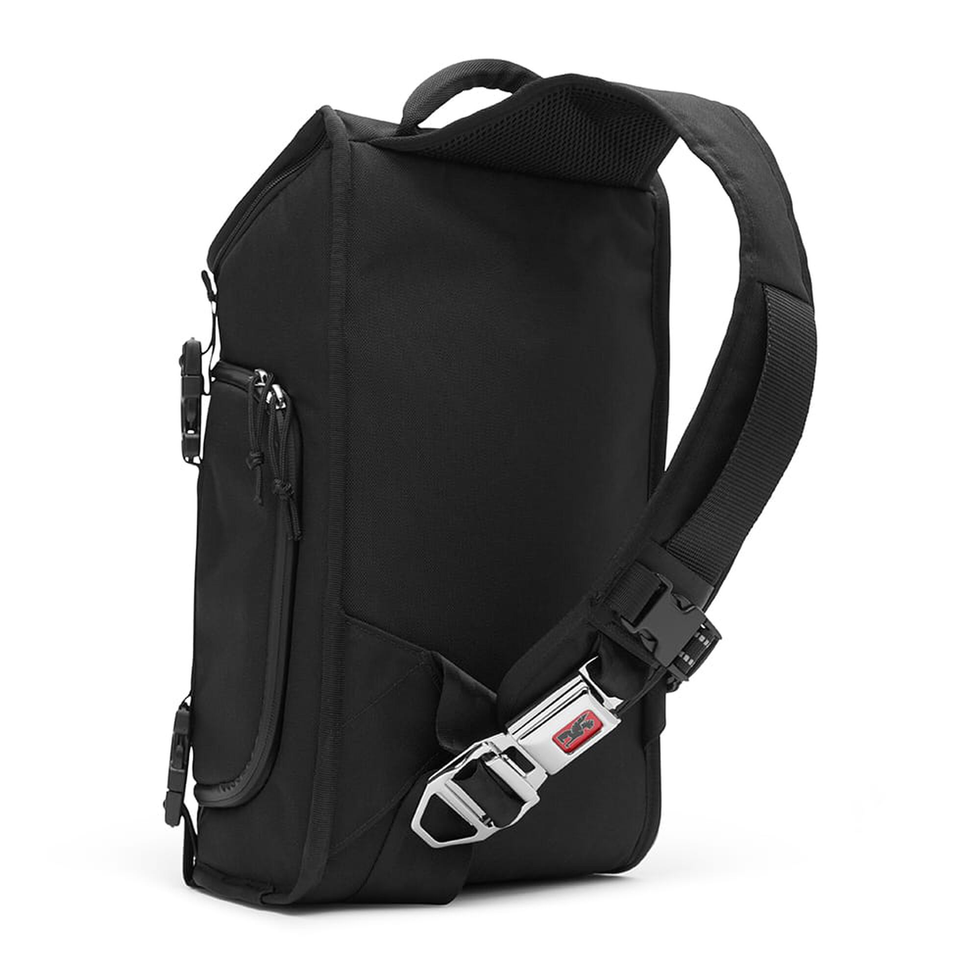 Niko Messenger Bag In Black Small View