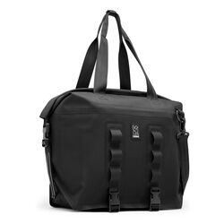 Urban Ex Rolltop 40L Tote Bag in Black / Black - large view.