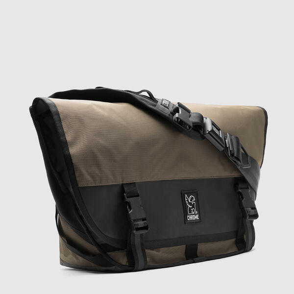 The Welterweight Mini Metro Messenger Bag in Ranger / Black - medium view.