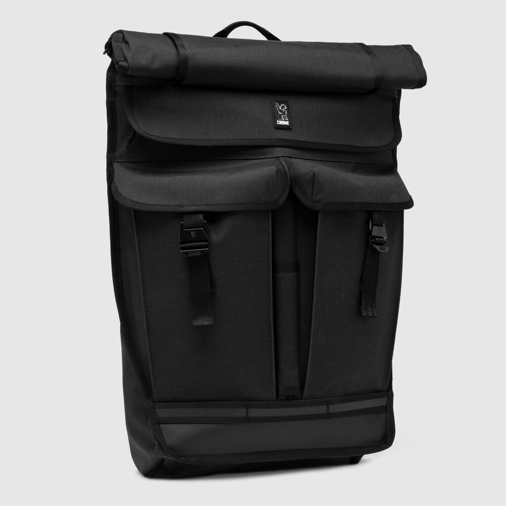 Orlov 2.0 Backpack in All Black - large view.