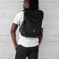 Echo Bravo Backpack in All Black - hi-res view.