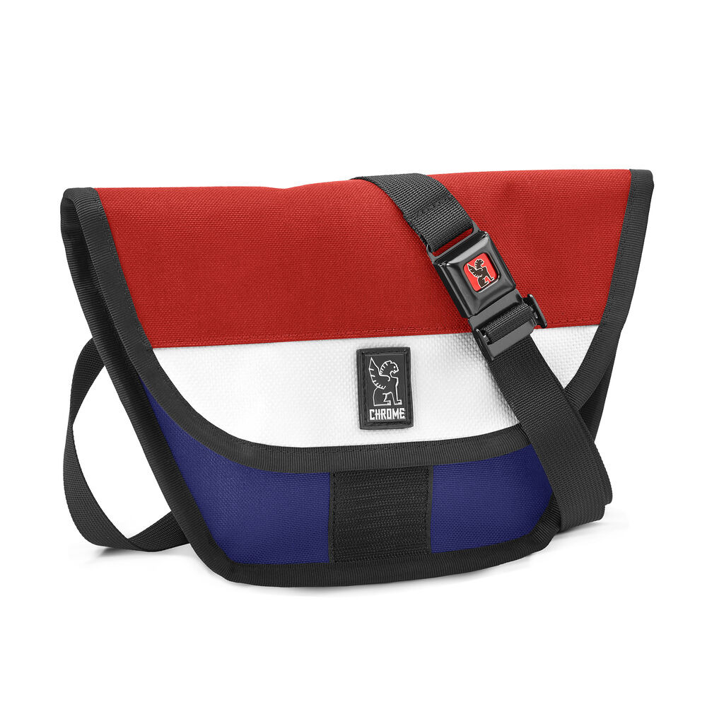 Hip Sling in Blue / Red - hi-res view.