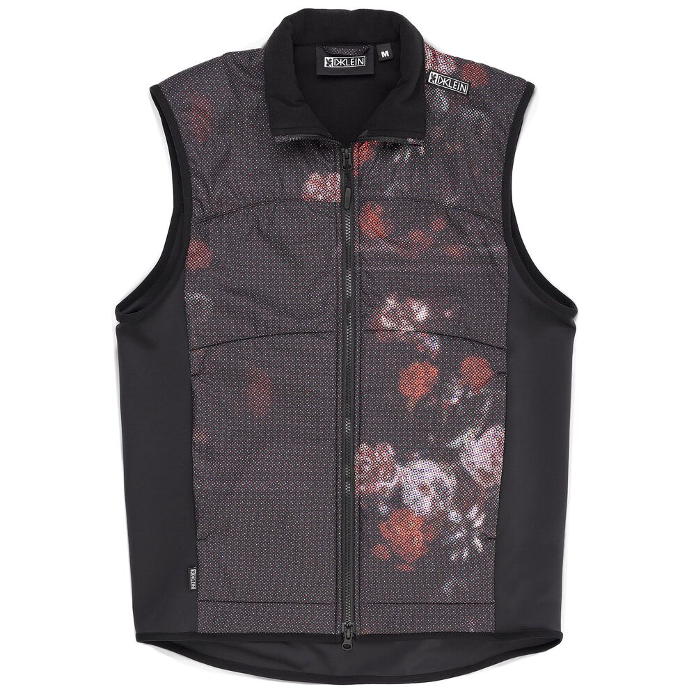 DKlein Wind Block Vest in Black - hi-res view.