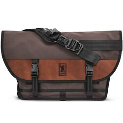 Citizen Messenger Bag in Earth / Leather - hi-res view.