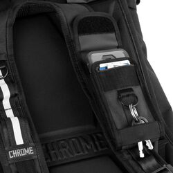 Phone Pouch in Black / Black - hi-res view.