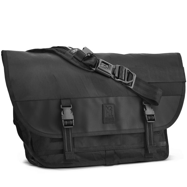 Citizen Messenger Bag in BLCKCHRM - hi-res view.
