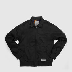 Golf Jacket in Black - small view.