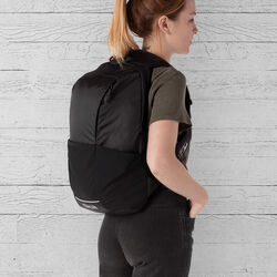 DKLEIN Semantics Backpack in Black  - hi-res view.