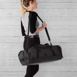 Spectre Duffle Bag in Grey - large view.