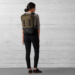 Urban Ex Rolltop 18L Backpack in Ranger / Black - wide-hi-res view.