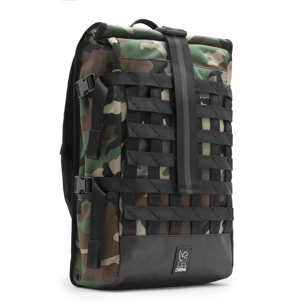 Barrage Cargo Backpack in Camo - large view.