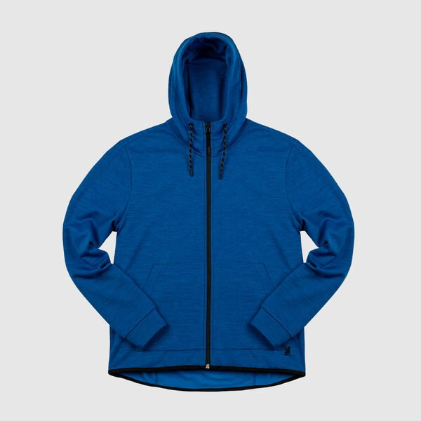 Stark Tech Fleece Hoodie in True Blue - medium view.