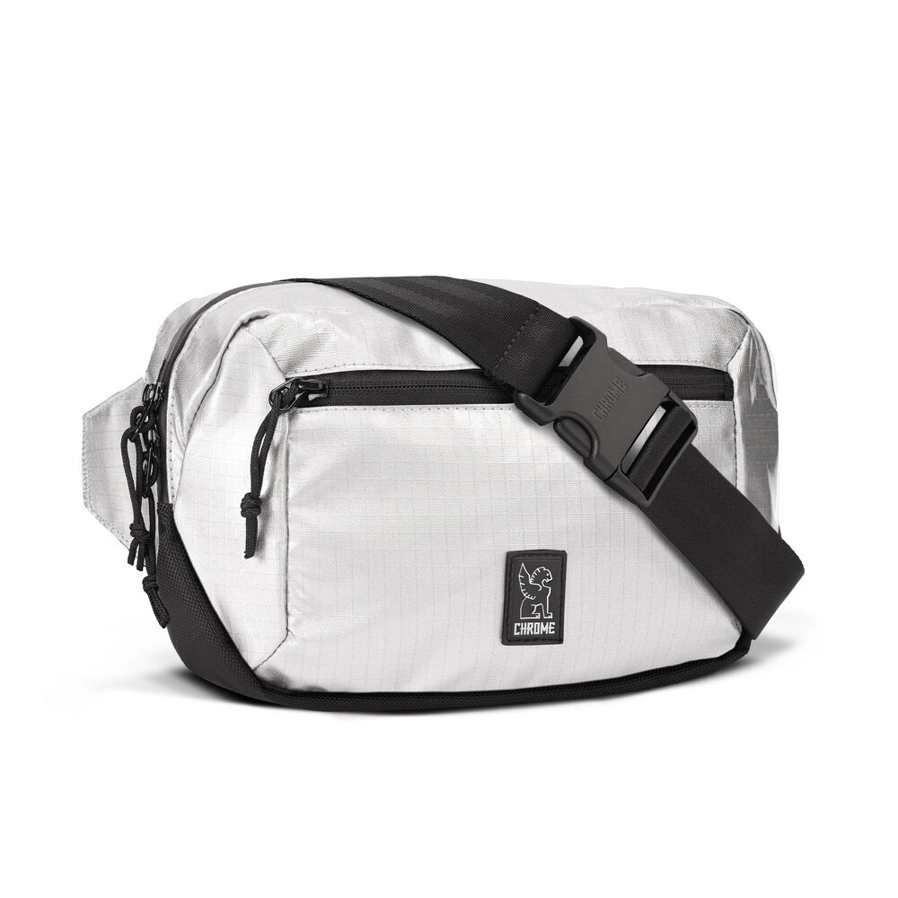 Ziptop Waistpack in Chromed - hi-res view.