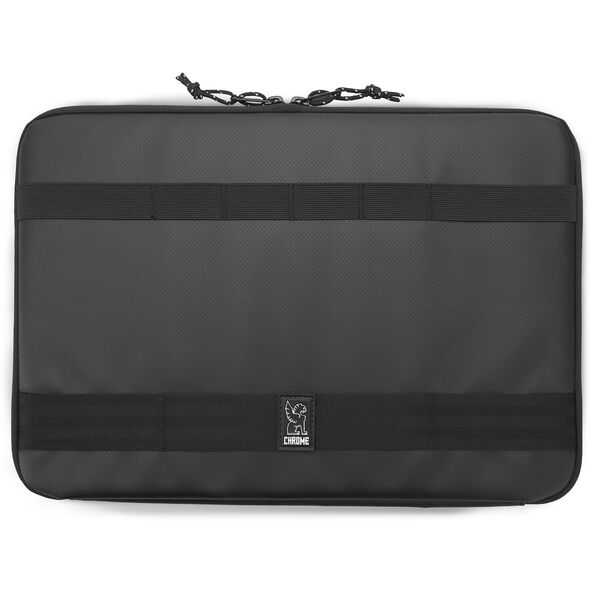 Large Laptop Sleeve in Black - hi-res view.